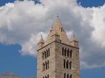 Church of Sant Orso Aosta Stock Photography