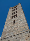 Church of Sant Orso Aosta Stock Images
