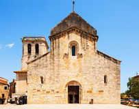 Church of Sant Pere in Besalu Stock Photos
