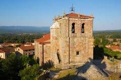 Church of Sant Peter in Hacinas Stock Images
