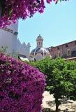 Church of Sant Romà. Church located in Lloret de Mar Catalonia Royalty Free Stock Image