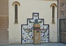 Church of Sant Romà. Church located in Lloret de Mar Catalonia stock images