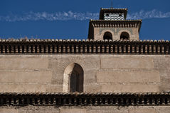 Church of Santa Ana, Granada. Detail of the Church of Santa Ana in Granada Royalty Free Stock Images