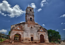 Church of Santa Ana in Trinidad, Cuba. Stock Photos