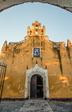 Church of Santa Ana in Valladolid, Yucatan, Mexico Royalty Free Stock Photo