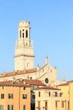 Church Santa Anastasia in Verona Royalty Free Stock Photography