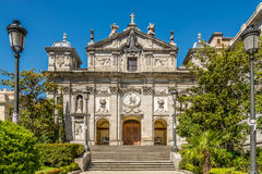 Church of Santa Barbara in Madrid Royalty Free Stock Images