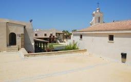 Church in  Santa Catalina castle in Cadiz Stock Photos