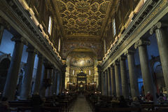 Church of Santa Cecilia in Trastevere, Rome, Italy. Stock Photo