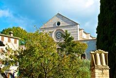 Church of Santa Chiara - Assisi Royalty Free Stock Image