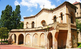 Church of Santa Creu of the ancient mental hospital Stock Image