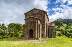Church of Santa Cristina de Lena Oviedo Stock Images