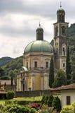 Church of Santa Croce at Riva San Vitale Royalty Free Stock Images