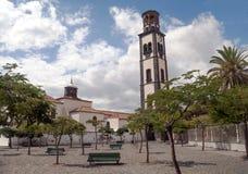 Church of Santa Cruz de Tenerife Stock Images