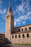 The Church of Santa Eufemia in Grado, Italy Royalty Free Stock Photo