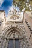 The church of Santa Eulàlia Palma de Majorca Stock Photography