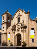 Church of Santa Eulalia. Murcia Royalty Free Stock Photos