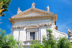 The church Santa Francesca Romana in Roman Forum, Rome Royalty Free Stock Photos