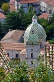Church of Santa Maddalena, Morano Calabro stock image