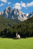 Church of Santa Maddalena Stock Images
