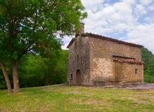 Church of Santa Magdalena in Besalu Stock Photography