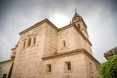 Church of Santa María de la Alhambra Royalty Free Stock Photo