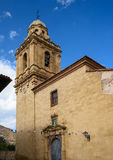 Church of Santa Margarita in Mirambel, Spain. Stock Photography