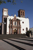 Church of Santa Maria. The church of Santa Maria in Amealco a village in Queretaro royalty free stock images