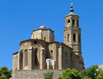 Church of Santa Maria Almenar Royalty Free Stock Photo