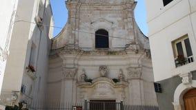 Church of Santa Maria Amalfitana. Monopoli. Puglia. Italy. stock footage