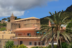 Church of Santa Maria Andratx, Majorca Stock Photos