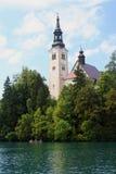 Church of Santa Maria Assunta - Bled Stock Images