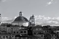 The Church of Santa Maria Assunta stock photography
