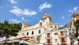 Church Of Santa Maria Assunta in Positano Royalty Free Stock Image