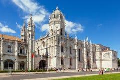 Church of Santa Maria of Belem in Lisbon Royalty Free Stock Image