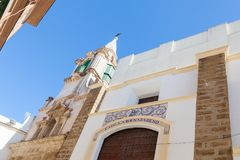 The Church of Santa Maria in Cadiz. The Church of Santa Maria in the Spanish city of Cadiz Stock Photos