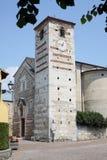 Church of Santa Maria Cisano Italy. Ancient church of Santa Maria in Cisano Lake Garda Italy stock photos