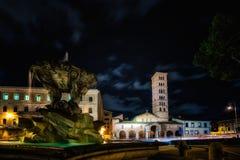 The church of Santa Maria in Cosmedin Royalty Free Stock Photos