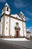 Church of Santa Maria da Devesa, Castelo de Vide Stock Photo