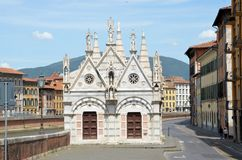 Church Santa Maria de la Spina Pisa Royalty Free Stock Photos