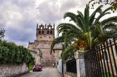Church of Santa Maria de los Angeles of San Vicente de la Barque royalty free stock photos