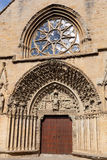 Church of Santa Maria de Olite Stock Images