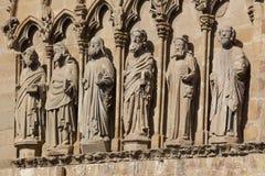 Church of Santa Maria de Olite Royalty Free Stock Image