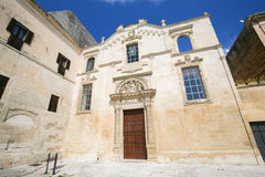 Church of Santa Maria degli Angeli in Lecce Royalty Free Stock Image