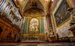 Church of Santa Maria degli Angeli. Rome. Italy. Royalty Free Stock Photos