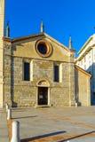The Church of Santa Maria degli Angioli, Lugano Stock Image