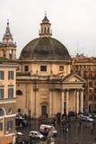 Church of Santa Maria dei Miracoli, Rome Royalty Free Stock Photography