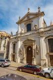 Church Santa Maria dei Servi in Vicenza Royalty Free Stock Photography