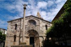 Church of Santa Maria del Campo, A Coruña, Spain Stock Photos