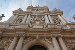 Church of Santa Maria del Giglio, Venice, Italy. Stock Photography